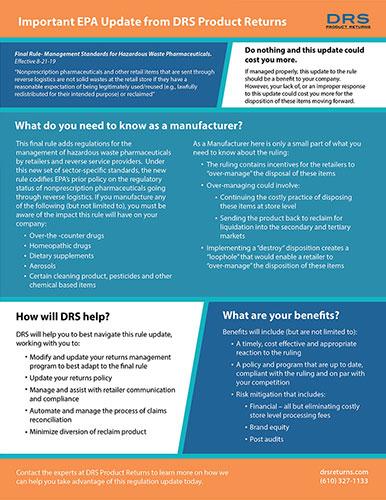 DRS EPA Update Doc
