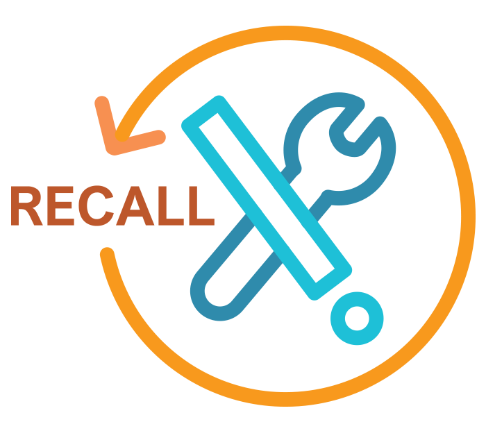 DRS Product Recalls Icon