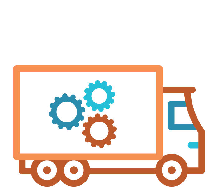Supply Chain Services Icon